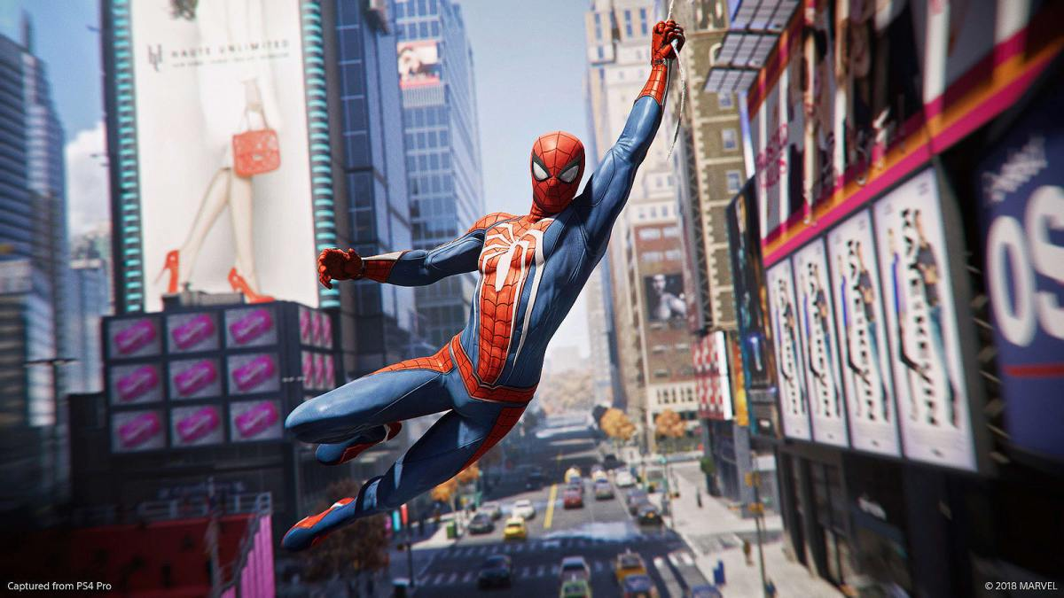 Spider-Man Preview: PS4