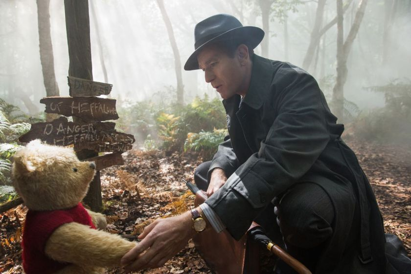 pooh and robin